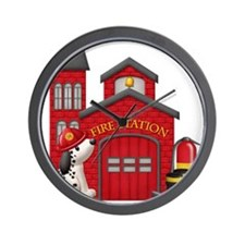 Fireman copy Wall Clock
