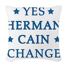 hCain3C Woven Throw Pillow