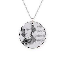 John Stuart Mill Necklace