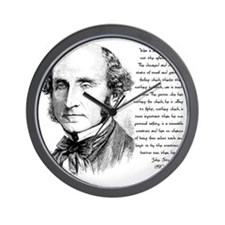 John Stuart Mill Wall Clock