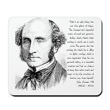John Stuart Mill Mousepad