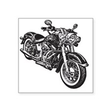 "moto Square Sticker 3"" x 3"""