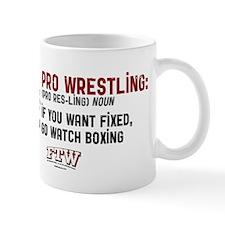 Boxing_white_shirts Mug