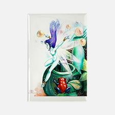 GreenFairy-PosterMini Rectangle Magnet