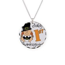 Babys First Thanksgiving Necklace