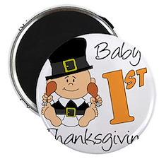 Babys First Thanksgiving Magnet