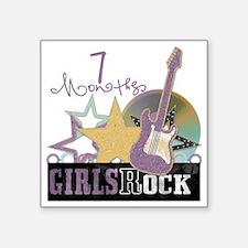 "rockstar-7m copy Square Sticker 3"" x 3"""