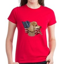 Poodle (Apr) Flag Tee