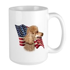 Poodle (Apr) Flag Mug