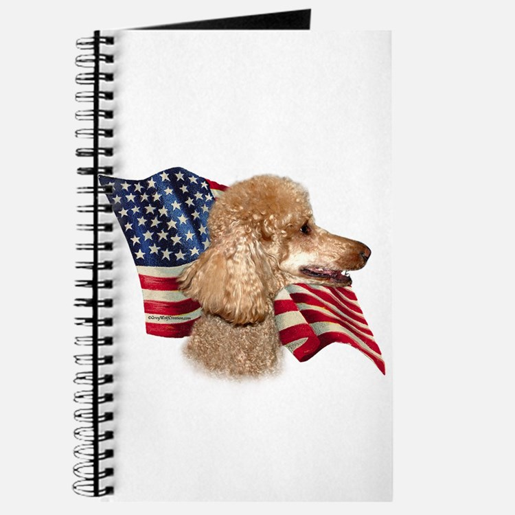 Poodle (Apr) Flag Journal