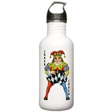 Vintage Court Jester W Sports Water Bottle