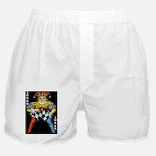 Vintage Court Jester Wacky Joker Boxer Shorts