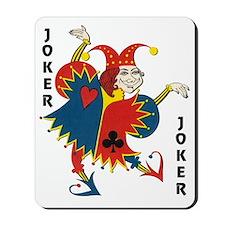 Vintage Dancing Wacky Joker Mousepad