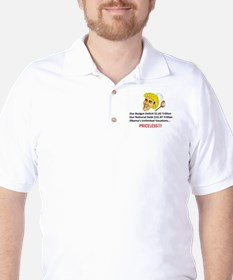 Priceless Button Style T-Shirt