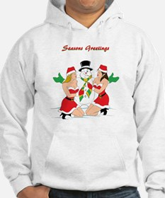 Frosty The Snow Stud Hoodie