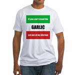 Garlic Lover Fitted T-Shirt