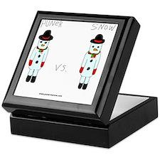 Puner vs. Snow Keepsake Box