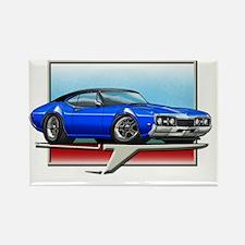 Blue_BT_68_Cutlass Rectangle Magnet