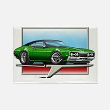 Green_BT_68_Cutlass Rectangle Magnet