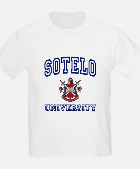 SOTELO University Kids T-Shirt
