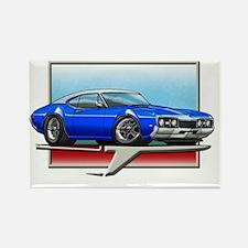 Blue_WT_68_Cutlass Rectangle Magnet