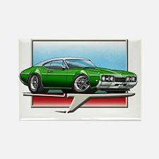 Green_WT_68_Cutlass Rectangle Magnet