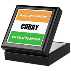 Curry Lover Keepsake Box