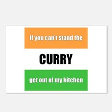 Curry Lover Postcards (Package of 8)