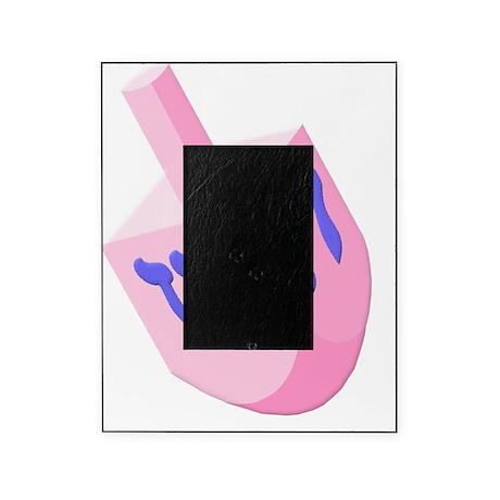 Dreidel Pink 3D Picture Frame