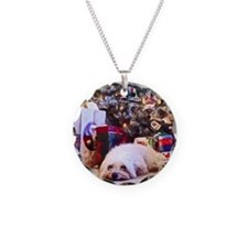 Havanese Christmas Necklace