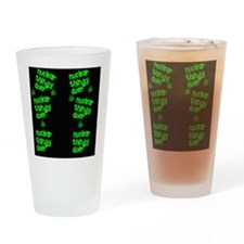 funny nuclear flip flop sandles Drinking Glass