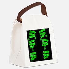 funny nuclear flip flop sandles Canvas Lunch Bag