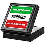 Paprika Lover Keepsake Box