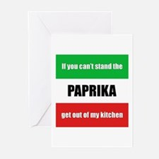 Paprika Lover Greeting Cards (Pk of 10)