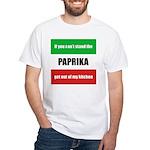 Paprika Lover White T-Shirt