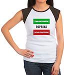 Paprika Lover Women's Cap Sleeve T-Shirt