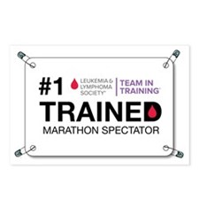 trained bib Postcards (Package of 8)