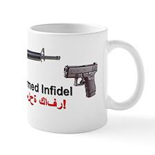 Armed InfidelTRNSP Mug
