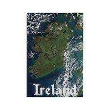 Ireland Via Satelite Magnet