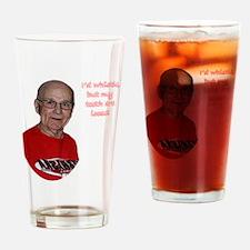 teeth shirt 02 Drinking Glass