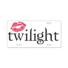 Pastel Pocket Aluminum License Plate