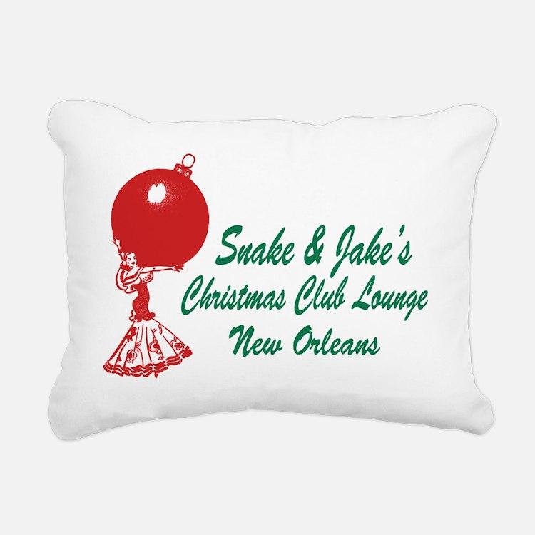 redgreenlady Rectangular Canvas Pillow
