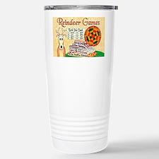 ReindeerGamesCP Stainless Steel Travel Mug