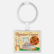 ReindeerGamesCP Landscape Keychain