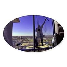 Window Washer004-Poster Decal