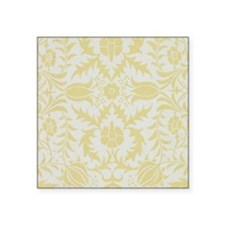 "William Morris vintage desi Square Sticker 3"" x 3"""