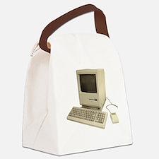 vintage mac Canvas Lunch Bag