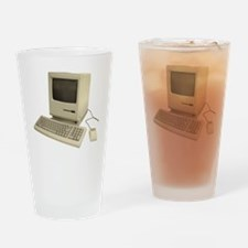 vintage mac Drinking Glass
