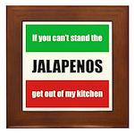 Jalapeno Lover Framed Tile