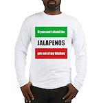 Jalapeno Lover Long Sleeve T-Shirt